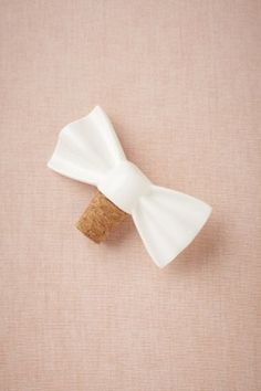 bow bottle stopper at BHLDN