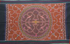 Ayahuasca and the Geometry of Sound: An Interview with Artist Tanya Harris - Sociedelic Manta Ray Tattoos, Alex Grey, Textile Fabrics, Native Art, Traditional Art, Geometry, Mandala, Embroidery, Artist
