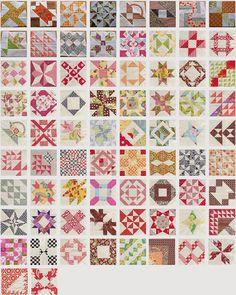 Farmer's wife sampler quilt – blocks 73 to 77 | Sewn Up by TeresaDownUnder