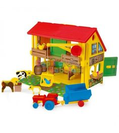 Wooden Toys, Nerf, Play, Tractor, Wooden Toy Plans, Wood Toys, Woodworking Toys