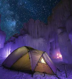 Otherworldly ice castles http://outsidetelevision.com/video/polar-vortex-ice-castles