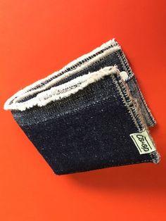 Soft Hemp Denim BillFold Wallet por TheHempCoop en Etsy
