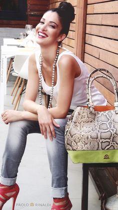 Brand: PAOLO RINALDI - #luxurybags Produzione: www.officinacreativa.us ph Renato Luchini