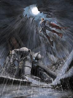 Batman vs Superman by ahgoh on DeviantArt