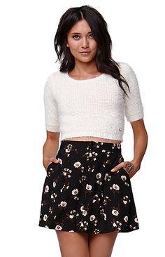 High Rise A-Line Skirt Kendall & Kylie