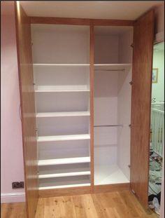 Internal ContiBoard wardrobe storage