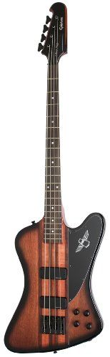 Outlet Offer Epiphone Thunderbird PRO-IV Electric Bass Guitar, Vintage Sunburst.