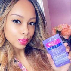 """We're passing the mic 🎤 to @glamorouz_k to tell you about her #ShimmerLights Violet Toning Mask routine! . 💜 """"I highly recommend this mask to keep your blonde feeling & looking amazing. 💜 I add this mask as a 3rd step to my hair washing process. 💜 I apply it right after I shampoo and condition the hair. It leaves hair feeling smooth and conditioned after leaving it on for 5 minutes."""" Hair Washing, Shimmer Lights, Routine, Shampoo, Conditioner, Smooth, How To Apply, Leaves, Amazing"""
