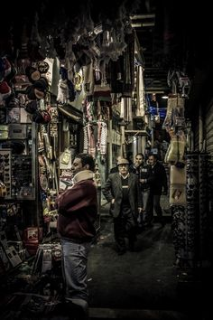Downtown Amman, Jordan -Souk area where I bought pieces of souvenirs and felafil.