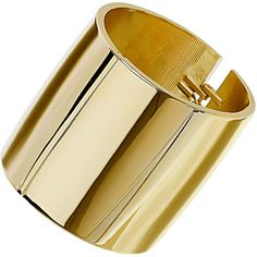 TOPSHOP Simple Smooth Metal Cuff ($31) ❤ liked on Polyvore featuring jewelry, bracelets, accessories, gold, cuff jewelry, metal bangles, topshop jewelry, cuff bangle and metal jewellery