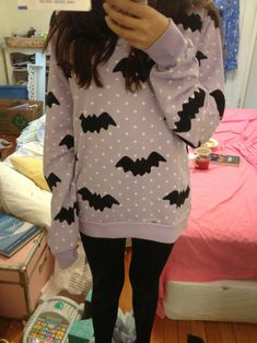 bat sweater