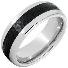 Cobblestone — Black Ceramic Serinium® Ring