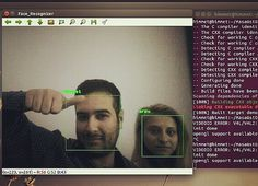#facerecognition working using #opencv #hardware #electronics #maker #makers #makerturkiye #makermovement #developer #code #linux #cmake #engineering #donanım #elektronik #mühendislik #mühendis #yazılım #kodlama #bilişim #teknoloji #himmetgencer by gencerhimmet