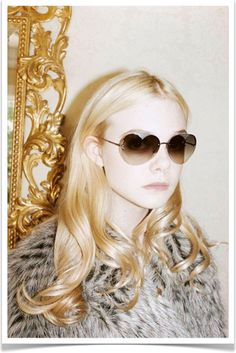 * heart-shaped sunglasses by marc jacobs fall 2011.
