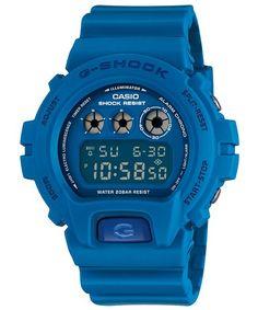 g-shock pop matte blue - one that got away Casio G-shock, Casio Watch, Blue G Shock, Cool Watches, Watches For Men, Coldplay Chris, Casio G Shock Watches, Shocking Blue, Mens Designer Watches