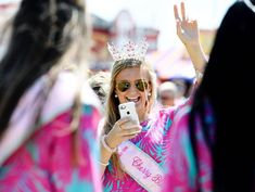 Pageant winners at The Cherry Blossom Festival