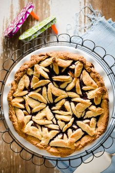 Hamantashen Pie is a new fun twist on a Purim classic.
