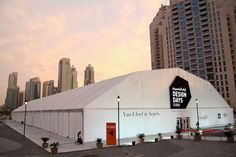 Our Marquee in Downtown Dubai