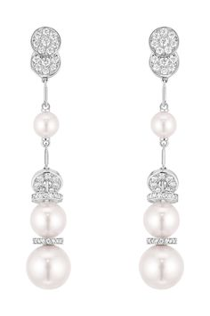 Whether it's a simple string of pearls gifted by a cherished family member or a modern take on pearl earrings, you can't go wrong with the timeless classic.            Perle Couture earrings in 18k white gold, cultured pearls and diamonds, £11,500, Chanel   - HarpersBAZAAR.co.uk