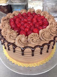 Choc rasp cake