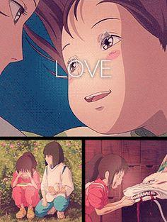 Love - Chihiro and Haku <3