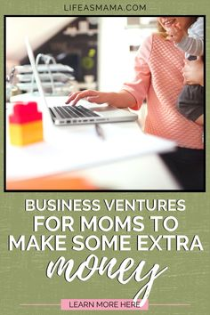 Opportunities to work from home are increasing daily. Life as Mama has 6 business ventures for a stay at home mama to make some real money. Tap the photo to find the right opportunity for you! #lifeasmama #stayathome #workfromhome #workingmama #workopportunities Make Money From Home, How To Make Money, Work Opportunities, Text Overlay, Busy Life, Extra Money, Kids And Parenting, Helpful Hints, Truths