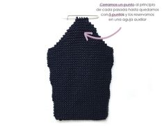 abrigo-de-punto-8 Baby Knitting Patterns, Crochet Cardigan Pattern, Knit Crochet, Baby Girl Dresses, Wool, Natural, Decoupage, Baby Boy, Fashion