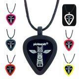 Epic Black Pickbandz® Guitar Pick Holder Pick Necklace  ...just pop in your custom guitar picks and Rock On!