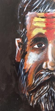 Indian Saints, Painting, Art, Art Background, Painting Art, Kunst, Paintings, Performing Arts, Painted Canvas