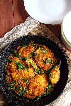 Maas Bhuna   Bengali Fish Curry