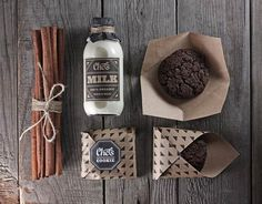 weandthecolor: Chef's Cafe – Brand Identity by Fox in Sox Design Studio More about the brand identity on WE AND THE COLOR. Design, Branding...