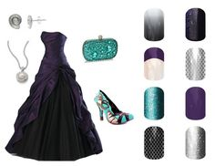 Ursula, The Little Mermaid, Disney inspired Jamberry nail wraps Hannahbelle.jamberrynails.net