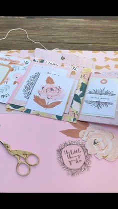 Mini Album Scrapbook, Scrapbook Journal, Baby Scrapbook, Handmade Scrapbook, Mini Albums Scrap, Handmade Journals, Handmade Books, Junk Journal, Envelope Book
