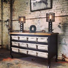 Los Angeles based Westin Mitchell Design Group create furniture guaranteed to make lovers of industrial-style decor drool! Recently, in a chance encounter, (thanks Shane Reynolds!), A Life Designe...