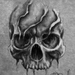 Evil Skull Tattoo Designs                                                                                                                                                     More