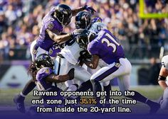 Ravens defense gets it done in the red zone.