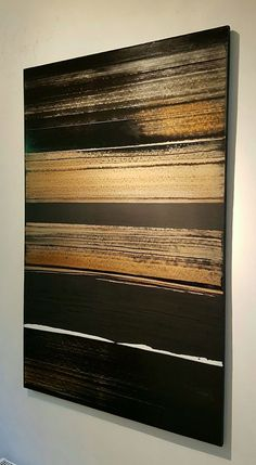 Abstract Art Paintings 381257924707079926 - Trendy Painting Art Ideas Abstract Gold Leaf Source by Diy Wall Art, Diy Art, Wall Decor, Abstract Canvas, Canvas Art, Diy Canvas, Gold Leaf Art, Gold Art, Painted Leaves
