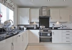 Taylor Wimpey - Stour Valley (Kidderminster) - Interior Designed Kitchen/Dining Room.