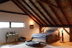 Bovina House - rustic - Bedroom - New York - kimberly peck architect