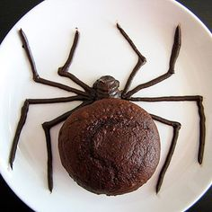 'Yaykes' or should we say 'Yummy!! I would like a spider like this on my plate this afternoon. :-)  100 Days of Holidays (via Parents.com)