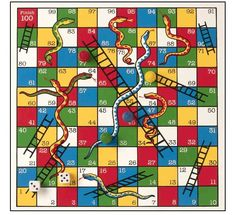 Wooden Dilly Dally Snakes and Ladders c 2011; game, games, chutes and ladders, boardgame, board game, children, play, family, graphic design, wood