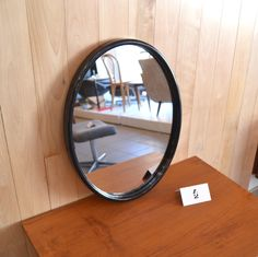 Mid-Century Modern - Miroir oval