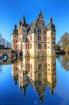 Water Castle Haus Bodelschwingh in Dortmund, Germany
