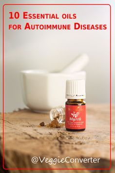 10 Essential Oils for Autoimmune Diseases | @VeggieConverter essentialoils health autoimmune