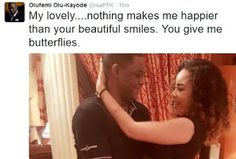 Welcome To Chitoo's Diary.: Femi Fani Kayode display his love for his beautifu...
