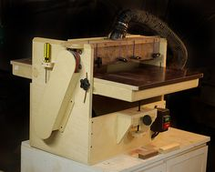 shop built drum sander plans | KRTWOOD - Shop Built Drum Sander Mk2