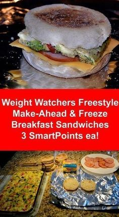 Weight Watchers Freestyle Make-Ahead Breakfast Sandwiches 3 SmartPoints Ea. are worth every effort to have on hand for busy mornings or anytime really!