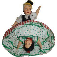 Spanish & Italian Topsy - Turvy Doll