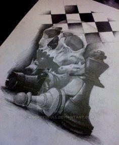 chess by AndreySkull on @DeviantArt