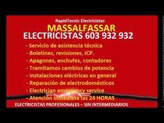 Electricistas MASSALFASSAR 603 932 932 Baratos